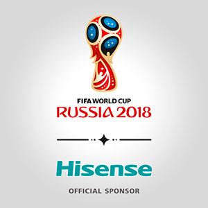 Hisense - официальный спонсор Чемпионата Мира FIFA 2018