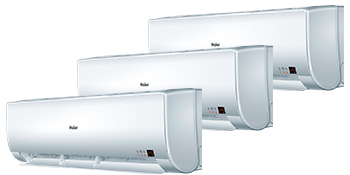 Haier AS07BS4HRA x 3 / 3U19FS1ERA