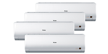 Haier AS09BS4HRA x 4 / 4U26HS1ERA