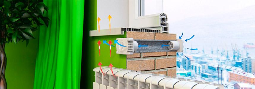 Приточная установка для вентиляции