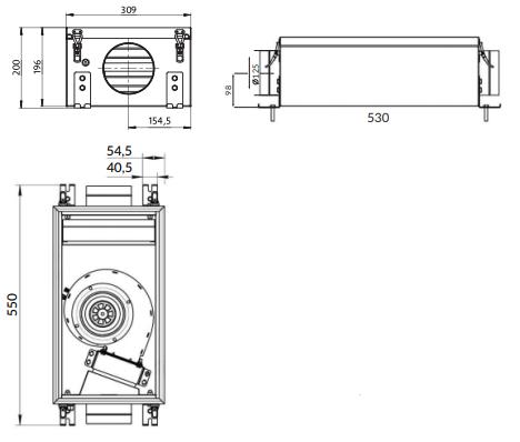Размеры Minibox.X-850