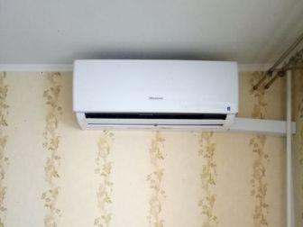 Монтаж кондиционера Hisense Smart DC Inverter в Москве